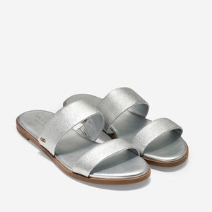 Cole Haan Findra Silver Sandals